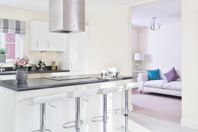 Kitchen to family...