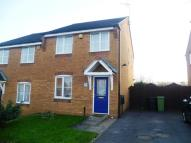 semi detached house in Bracken Road, Shirebrook