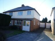 3 bedroom semi detached home in School Lane, Whitwick...
