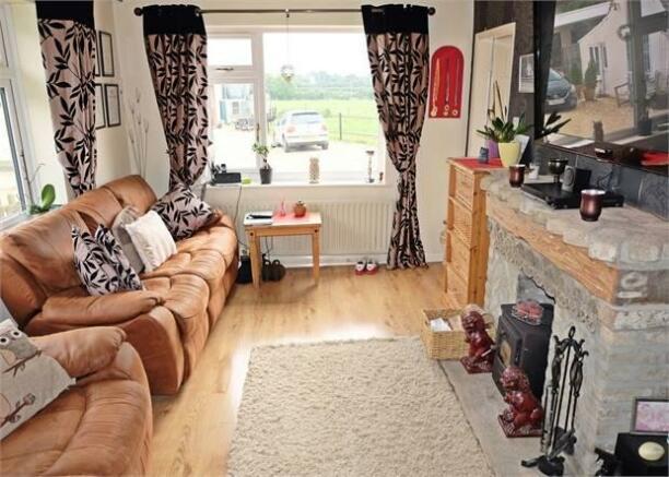 Detached bungalow sitting room