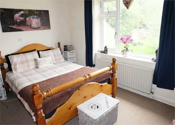 Detached bungalow master bedroom