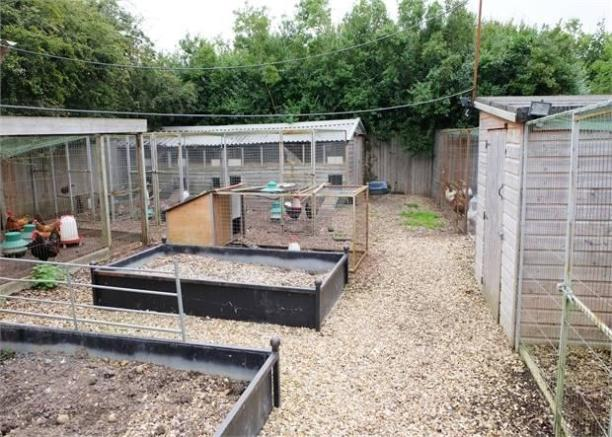 Chicken coops and hatchery