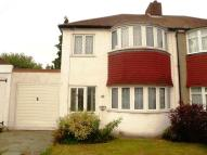 semi detached property in Chesham Avenue...