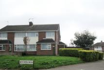 semi detached house in Wicken Rise, Wigston...