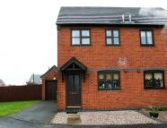2 bed semi detached property in Meadow Close...