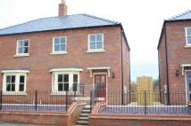 3 bed semi detached home for sale in Banks Road, Horncastle...