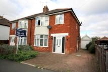 semi detached house in North Parade, Sleaford...