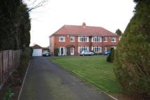 4 bed semi detached home in Lincoln Road, Branston...