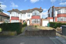 semi detached home in Fernside Avenue...