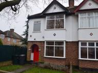 3 bed semi detached house in Devonshire Crescent...