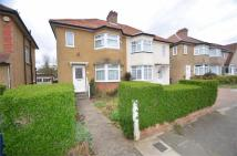 3 bedroom semi detached property in Orchard Crescent...