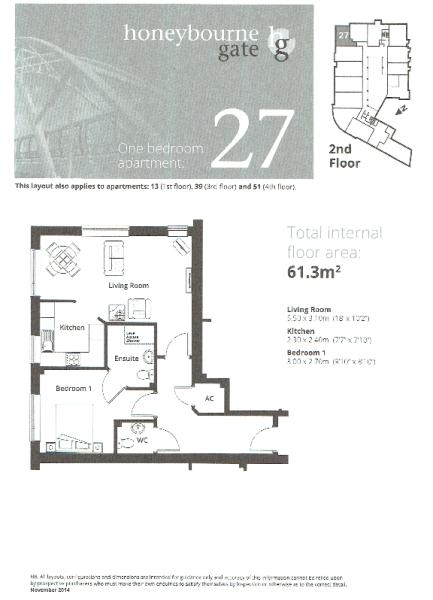 Apt 27 Floor Plan