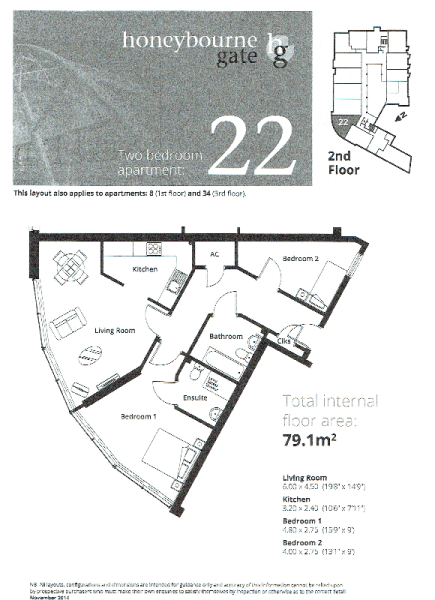 Apt 22 Floor Plan