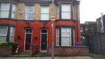 Terraced house in Cecil Street, Liverpool...