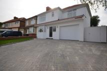 semi detached home for sale in Farnborough Crescent...
