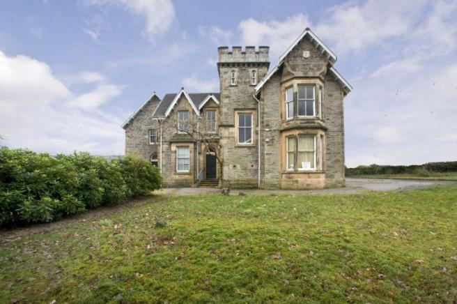 castle for sale in auchencraig house argyll road