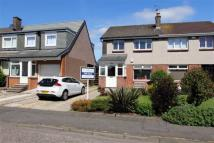 semi detached house in Humbie Road, Kirkliston