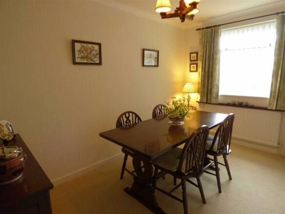 Dining room/ third bedroom