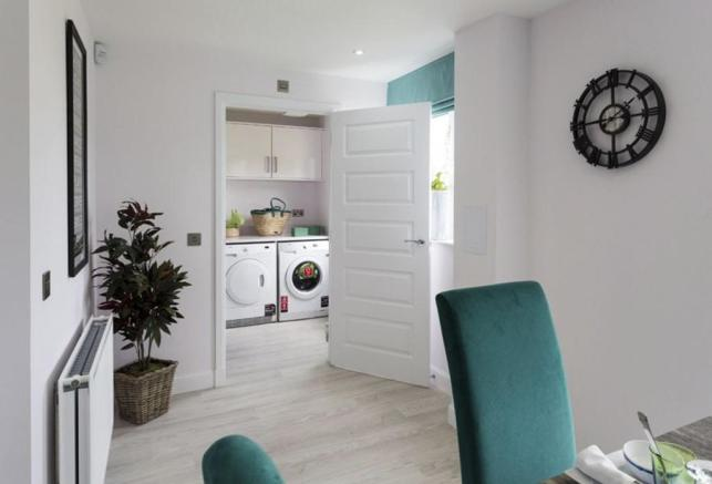 Dining through to Utility room
