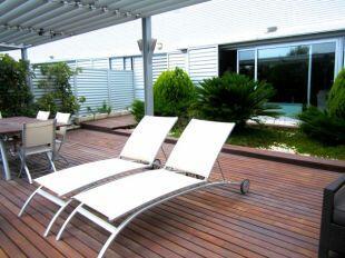 Duplex with terrace