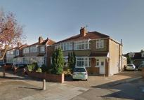 3 bed semi detached property in Wood End Way, Northolt...
