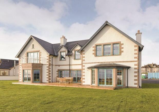 4 bedroom detached villa for sale in earls cross gardens for Modern houses for sale uk
