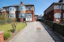 semi detached property for sale in Durham Moor Crescent...