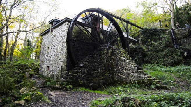 Local water mill
