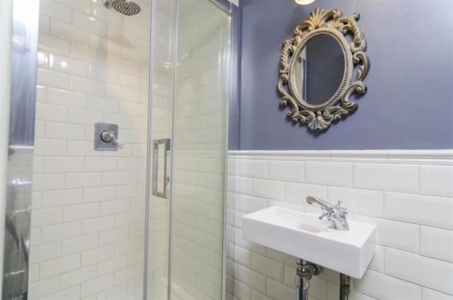Ground floor shower room & w/c