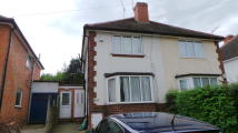 semi detached property to rent in Reservoir Road, Harborne...