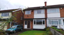 semi detached house in Navenby Close, Solihull...