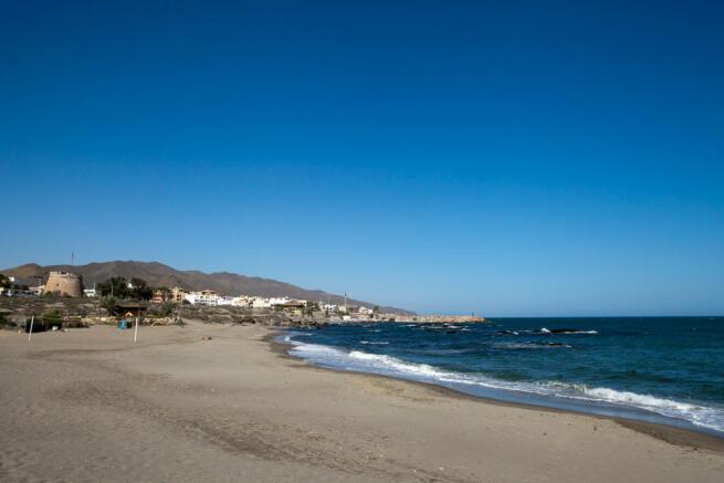 Villaricos Beach