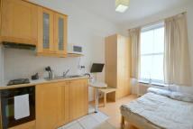 Studio apartment to rent in Belgrave Road, Pimlico...
