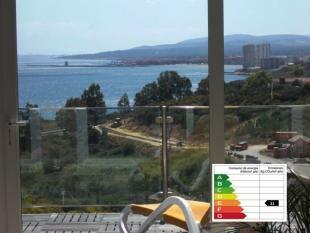 Panorama Blick zum Meer
