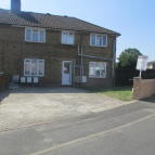 semi detached house in Castle Avenue, Yiewsley...