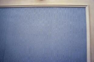 Silk-panelled walls