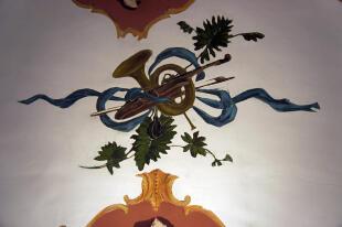 Salon -fresco detail