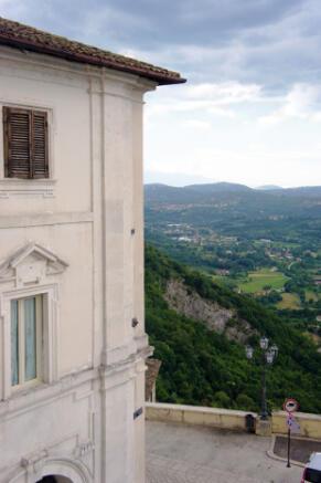 Corner of palazzo