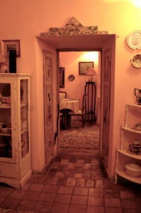 Dining room doorway