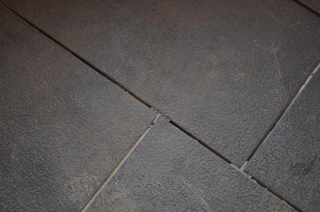 Floor tile detail