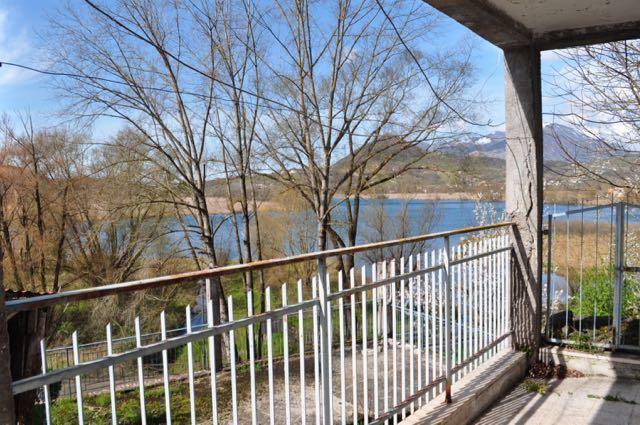 Ground floor balcony