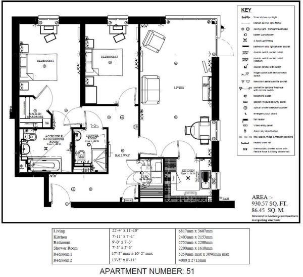 apartment 51 floorpl