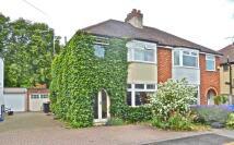 4 bedroom semi detached house to rent in Gisborne Road, Cambridge...