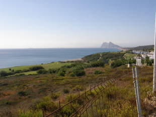 View to Gibraltar