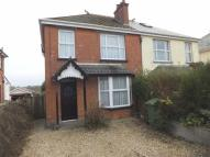 semi detached property in North Road, Holsworthy...