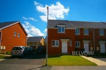 2 bed semi detached house in Blackbird Road, Corby