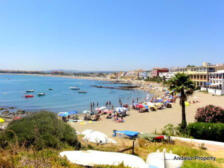 Local beach (2mins)
