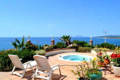 View to Gibraltar