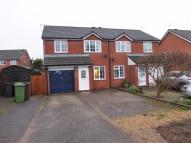 semi detached home in Wright Drive, Dereham...