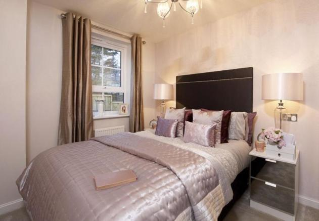 Oakham double bedroom
